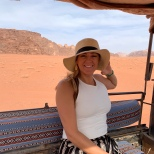 Desert jeep ride through Wadi Rum